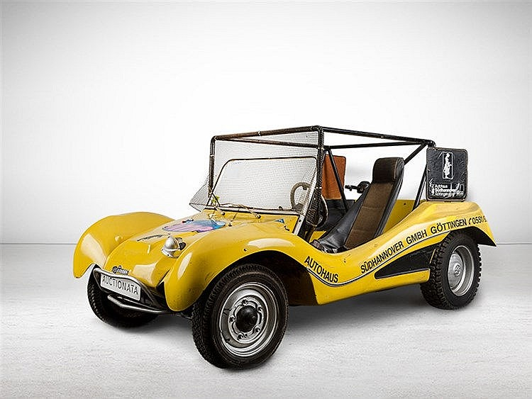 VW Cross-Buggy with Oettinger 2 Carburetor Engine, MY 1971