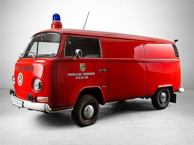 Volkswagen T2, Former Fire Engine, Model Year 1972