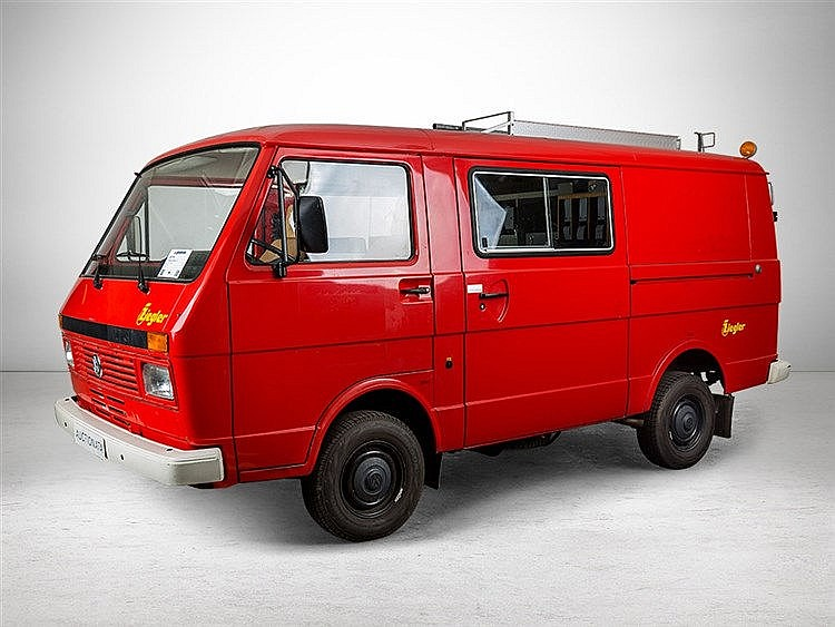 Volkswagen LT 31 Former Fire Engine, Model Year 1987