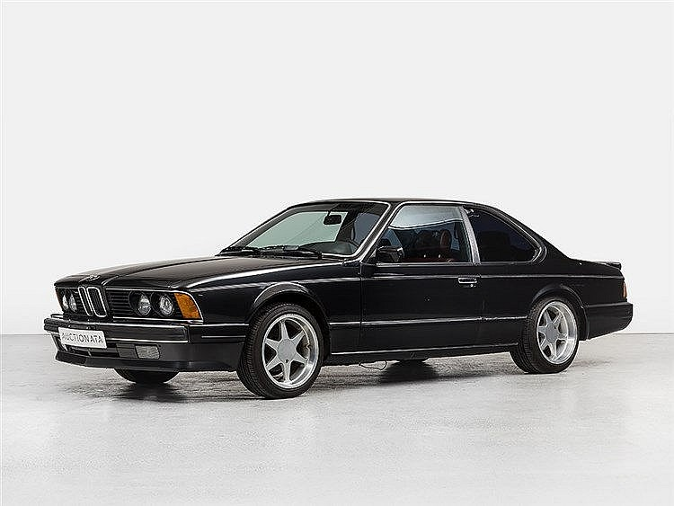 BMW 635 CSi Sports Coupe, Model Year 1987