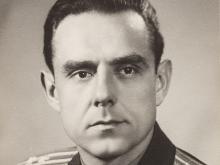 Portrait Photograph Vladimir M. Komarov, Signed, USSR, 1965