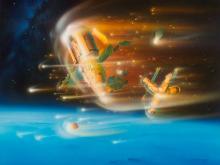 Detlev van Ravenswaay, The End Of The Mir Station, 2000