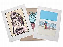 Portfolio 'Mother Goose Collection', 6 Serigraphs, USA, 1985