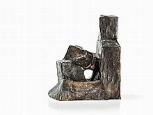 Fritz Wotruba (1907-1975), Bronze of a Seated Figure, 1954