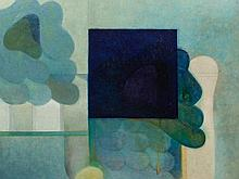 Otto Berenbrock, Mixed Media, Abstract Composition, 1967