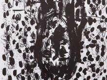 Georg Baselitz, Plate 5 From 'Suite ?45', Lithograph, 1990