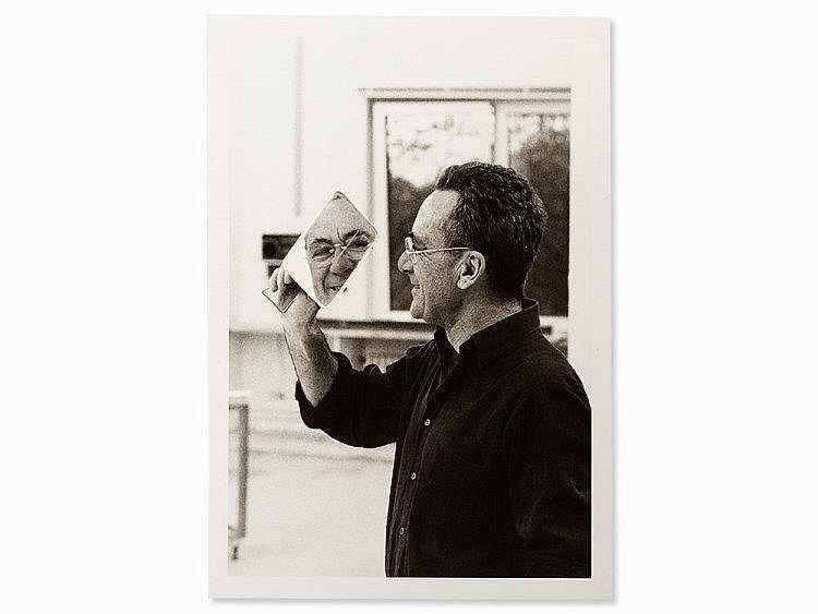 Benjamin Katz (b. 1939), Gerhard Richter, Signed, 1984
