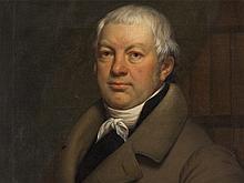 Ferdinand I De Braekeleer, Biedermeier Portrait of a Man, 1823
