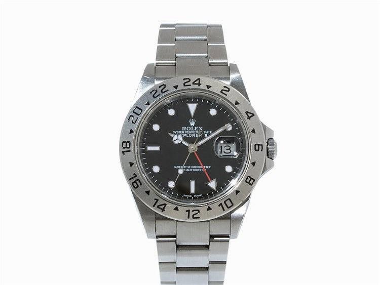 Rolex Explorer II Wristwatch, Ref. 16570, c. 2000