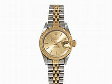 Rolex Oyster Perpetual Datejust Wristwatch, Switzerland, c.1991