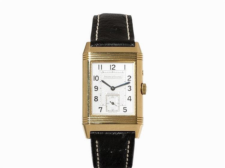 Jaeger-LeCoultre Reverso Duoface Wristwatch, Switzerland, 1990s