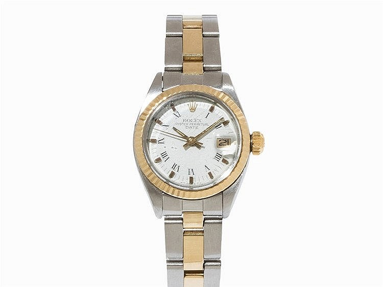 Rolex Oyester Perpetual Date Lady's Watch, Ref. 6917, 1982