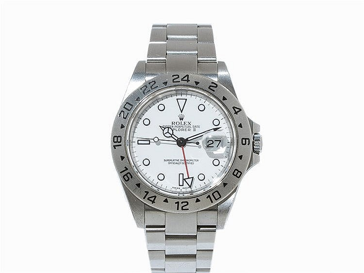 Rolex Oyster Perpetual Date Explorer II GMT, Ref. 16570