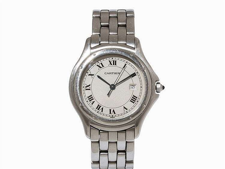 Cartier Cougar Wristwatch, Switzerland, 1990s