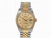Rolex Oyster Perpetual Datejust Wristwatch, Switzerland, c.1972