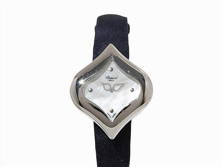 Chopard Pushkin Wristwatch, Ref. 12/7412, 18 K White Gold