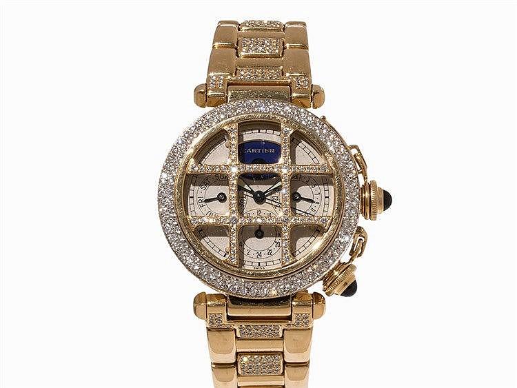 Pasha de Cartier Quartz Watch, Ref. 30002, 1990