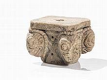 Romanesque Capital, Sandstone, presumably France, 12th C.