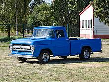 Ford F 100 Fleetside Longbed, Model Year 1957