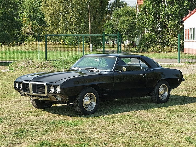 Pontiac Firebird, Model Year 1969