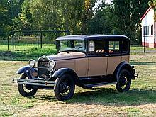 Ford Model A Sedan, Model Year 1929