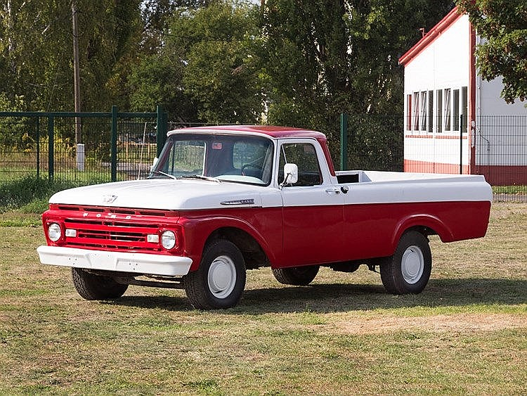 Ford F100 Unibody Fleetside Longbed, Model Year 1962