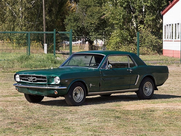 Ford Mustang, Model Year 1965