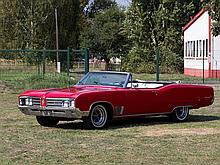 Buick Wildcat Convertible, Model Year 1968