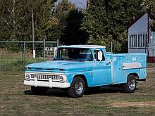 Chevrolet C20 Garage Truck, Model Year 1963