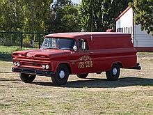 Chevrolet Panel Firetruck, Model Year 1960