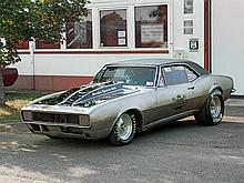 Chevrolet Camaro rebuilt as ProStreet, Model Year 1967