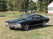 Chevrolet Chevelle Chevelle SS-396, Model Year 1968