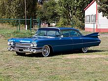 Cadillac Sedan DeVille Series 62, Model Year 1959