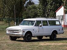 Chevrolet C10 Suburban, Model Year 1968