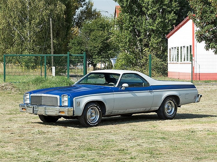 Chevrolet El Camino, Model Year 1976