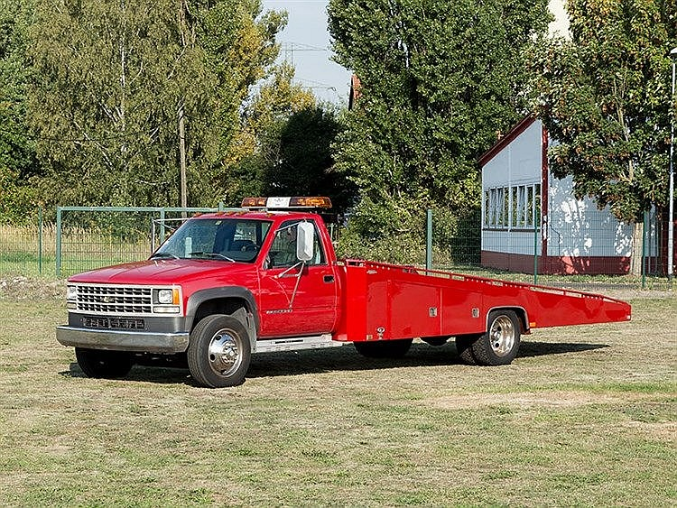 Chevrolet K3500 HD Tow Truck, Model Year 1992