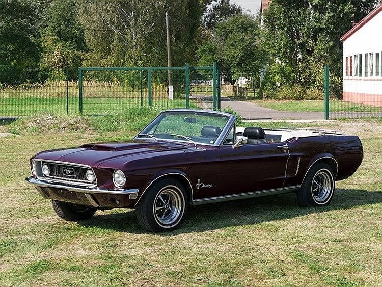 ford mustang convertible model year 1968. Black Bedroom Furniture Sets. Home Design Ideas