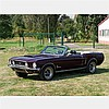 Ford Mustang Convertible, Model Year 1968