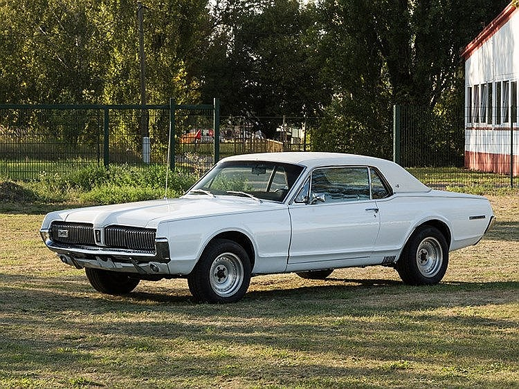 Ford Mercury Cougar XR7, Model Year 1967