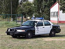 Ford Crown Victoria Police Interceptor, Model Year 2008
