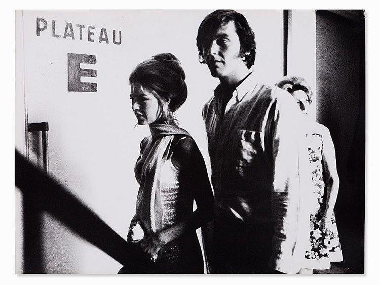 Peter Brüchmann, Brigitte Bardot at the Airport, 1963