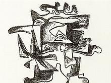 Ossip Zadkine, Le Regard Multiple, Lihograph, 1966
