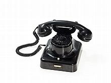 Hagenuk, Iconic Wall & Desk Phone W 49, Germany, around 1958