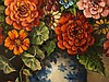 W. Hanft, 'Floral Still Live with Zinnia', Oil Painting, 20th C, Willy Hanft, Click for value