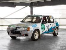 Peugeot205 Rallyefahrzeug, Baujahr 1990