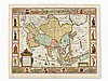 Nicolaes Visscher, Asia Nova Descriptio, Copper Map, 1657, Nicolas Visscher, Click for value