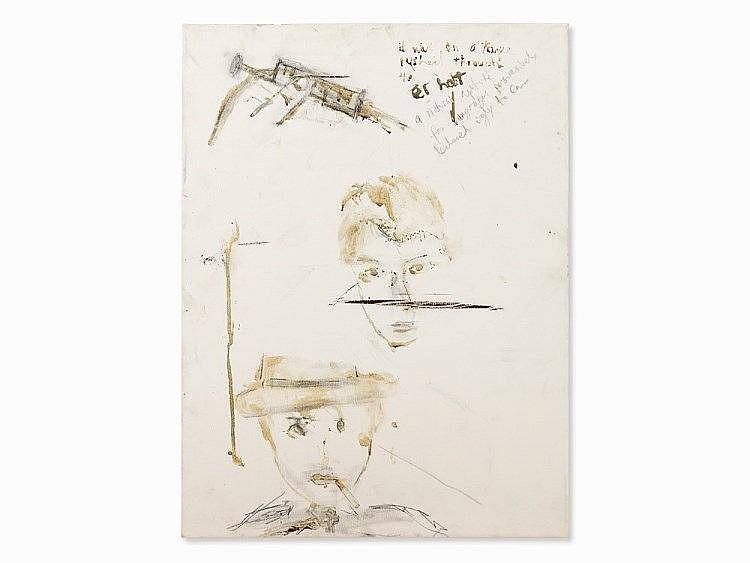 Pete Doherty (b. 1979), Self Portrait - Blood Painting