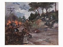 Clemente Tafuri, Carabineers in the Spanish Civil War, 1938