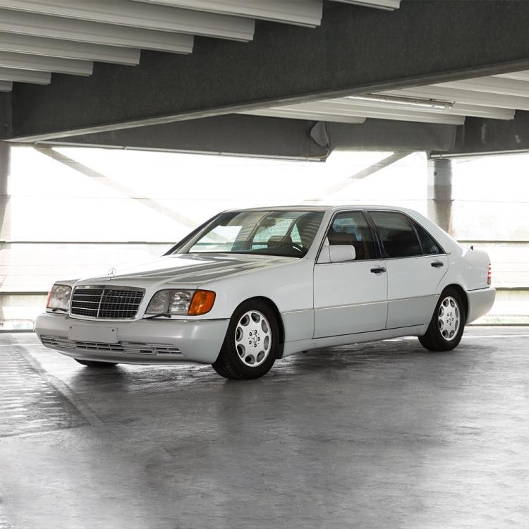 Mercedes Benz 600sel W140 Model Year 1992