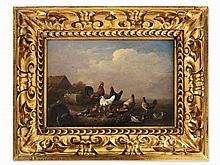 Franz van Severdonck (1809-1889), Landscape with Fowl, c. 1860